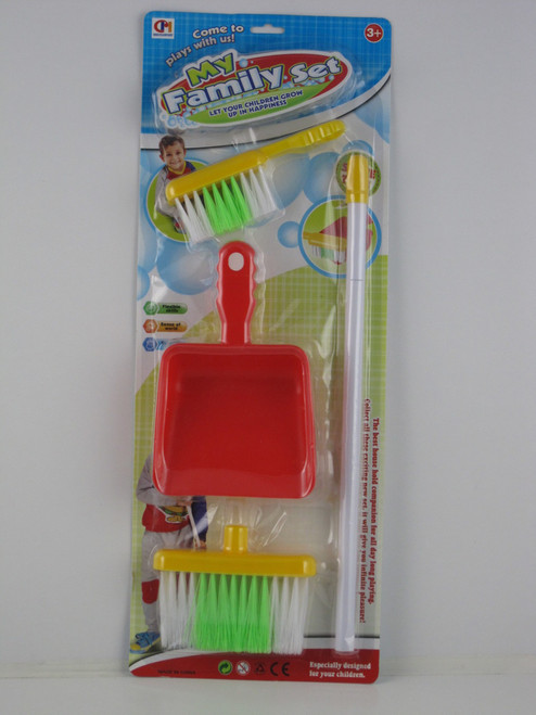 3PCE BROOM CLEANING SET