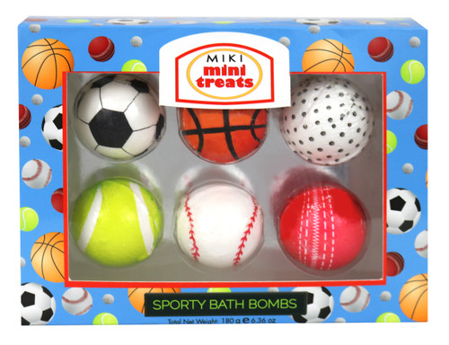 MIKI MINI TREATS SPORTY BATH BOMBS