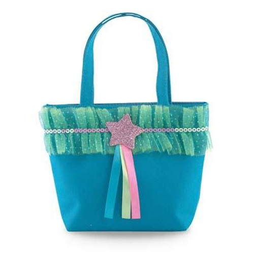 DANCING STAR HANDBAG - BLUE