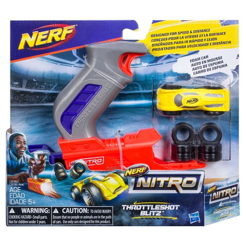 NERF NITRO THROTTLESHOT BLITZ - YELLOW