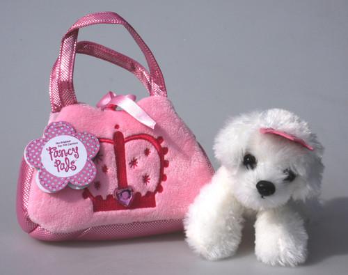 FP PET CARRIER - PRINCESS DOG IN PINK BAG