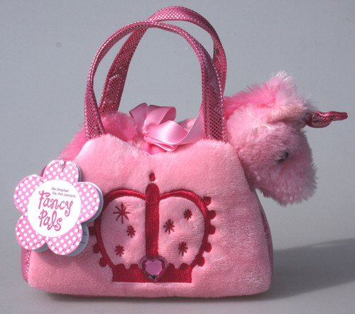 FP PET CARRIER - UNICORN IN PINK BAG