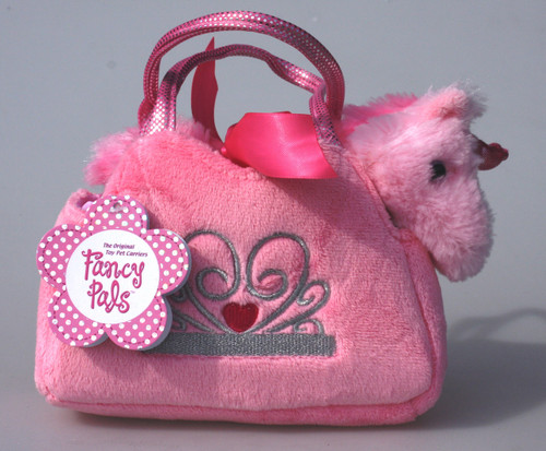 UNICORN IN PINK CROWN BAG