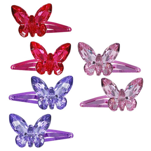 3D BUTTERFLY HAIRCLIP 2 pack