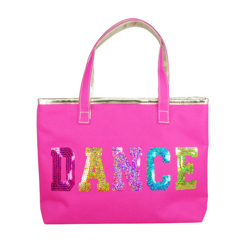 DANCE IN STYLE TOTE BAG - HOT PINK