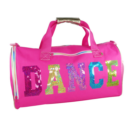 DANCE IN STYLE CARRY ALL BAG - HOT PINK