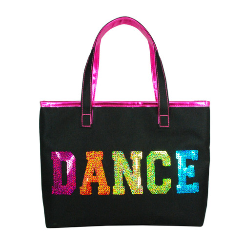DANCE IN STYLE MINI TOTE BAG - BLACK