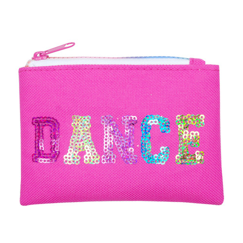 DANCE IN STYLE COIN PURSE - HOT PINK