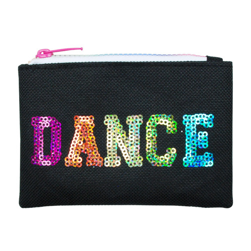 DANCE IN STYLE COIN PURSE - BLACK