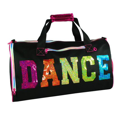 DANCE IN STYLE CARRY ALL BAG - BLACK