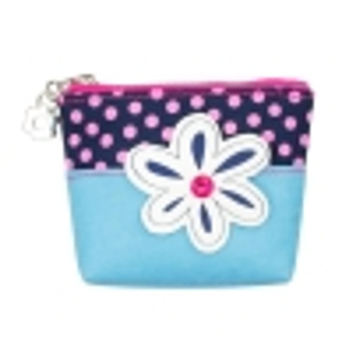 IMAGINATION COIN PURSE - BLUE