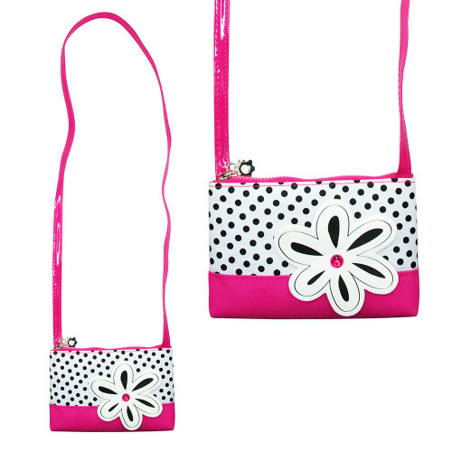 IMAGINATION SHOULDER BAG - HOT PINK