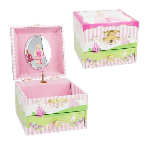 POPPY PRINCESS SMALL MUSIC BOX