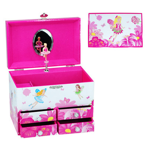 FAIRY FLOWER MEDIUM JEWELERY BOX