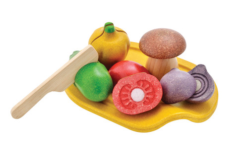 PLANTOYS ASSORTED VEGETABLE S