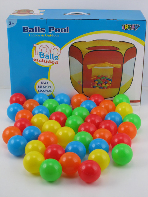 BALL HOUSE WITH 100 BALLS