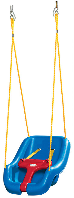 LITTLE TIKES 2 IN 1 SNUG & SECURE SWING - BLUE