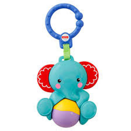 FISHER PRICE ELEPHANT ROLLER RATTLE