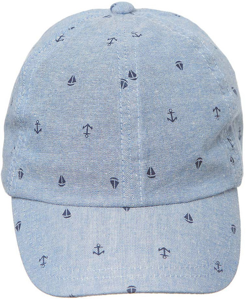 TOSHI CAP CRUISING CHAMBRAY LARGE