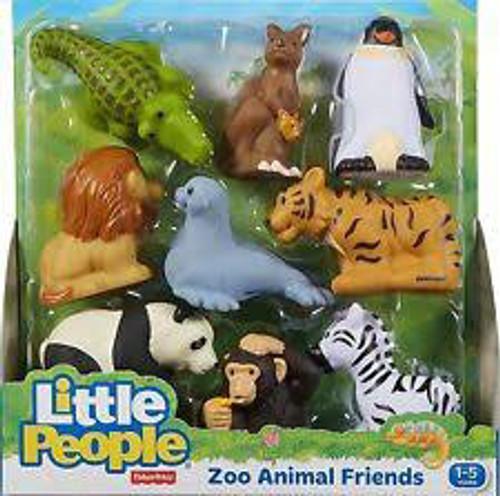 FP LP ANIMAL FRIENDS MEGA PACK - ZOO ANIMALS