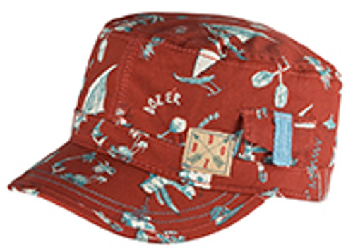 BOYS MAO CAP - CRUISER RED 1 SIZE