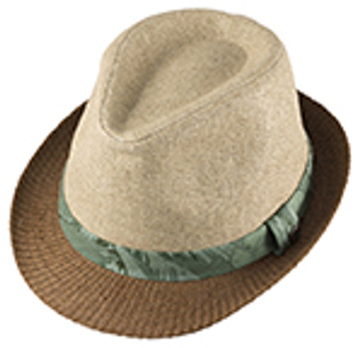 BOYS FEDORA - HAMILTON NATURAL