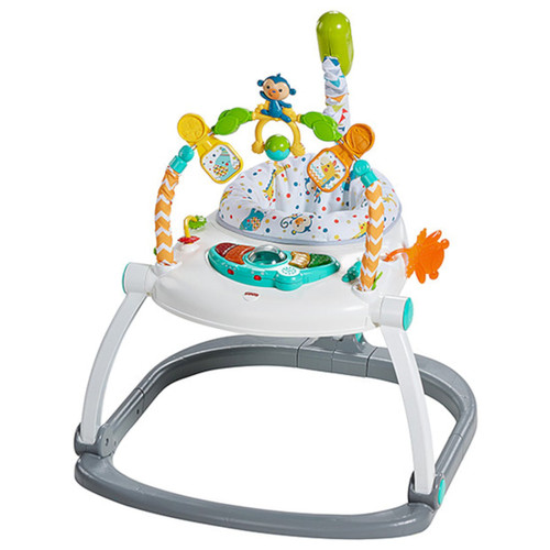 FISHER PRICE JUMPERROO COLOURFUL CARNIVAL
