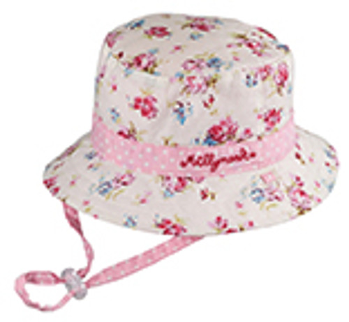 BABY GIRLS BUCKET - VINTAGE FLORAL SMALL