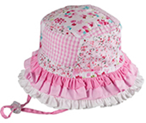 BABY GIRLS BUCKET - RAH RAH PINK SMALL