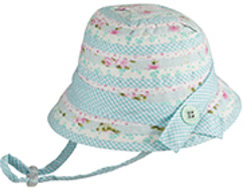 BABY GIRLS BELL - PATCHWORK MINT SMALL