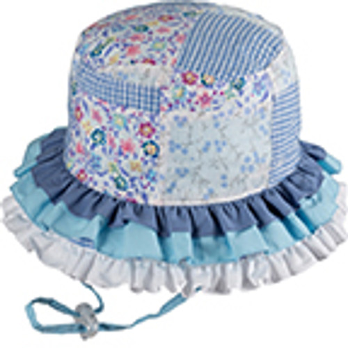 BABY GIRLS BUCKET - RAH RAH BLUE L