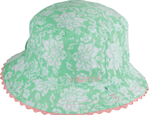 BABY GIRLS BUCKET - SAGE MINT SMALL