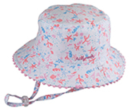 BABY GIRLS BUCKET - SHORELINE PINK S