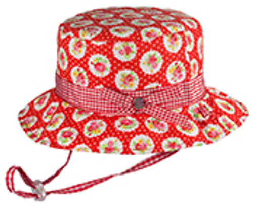 GIRLS BUCKET  - ROSIE RED LARGE