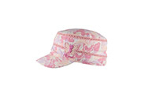 GIRLS MAO CAP - DESTINY PINK