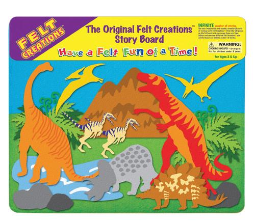 FELT CREATIONS - PREHISTORIC DINOSAURS