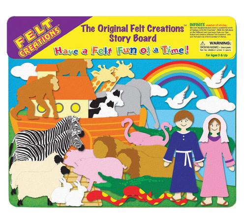 FELT CREATIONS - NOAHS ARK