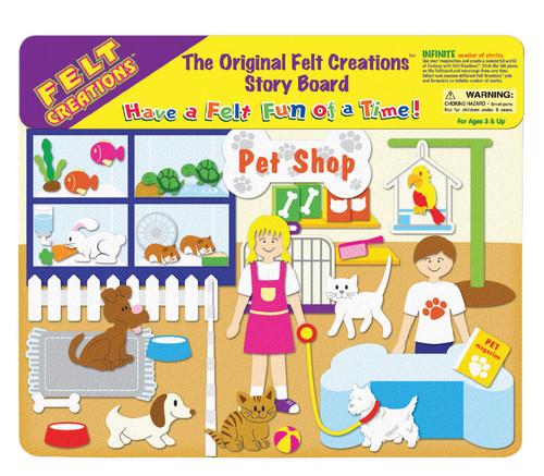 FELT CREATIONS - PET SHOP