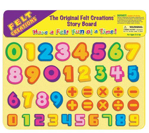FELT CREATIONS - NUMBERS