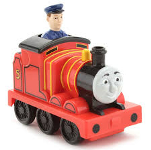 THOMAS & FRIENDS PRESS & GO JAMES