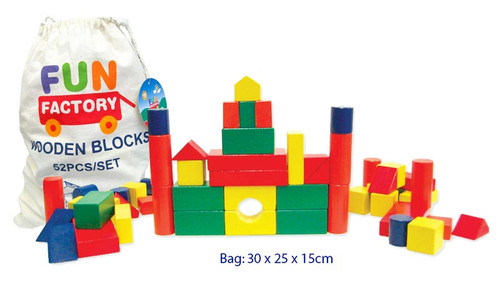 52PC WOODEN BLOCKS