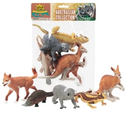 POLYBAG AUSTRALIAN PVC ANIMALS