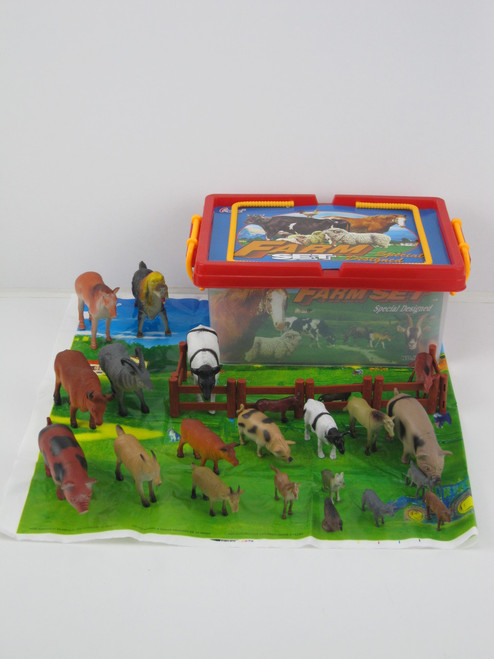 CARRY BOX OF FARM ANIMALS