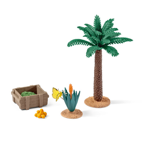 SCHLEICH - PLANTS & FEED SET