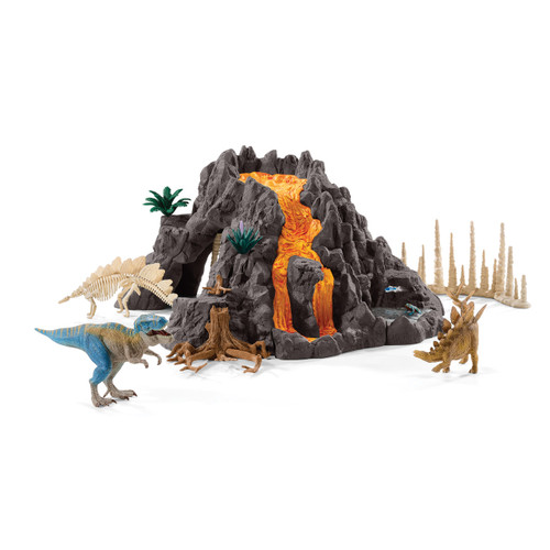 SCHLEICH - GIANT VOLCANO WITH