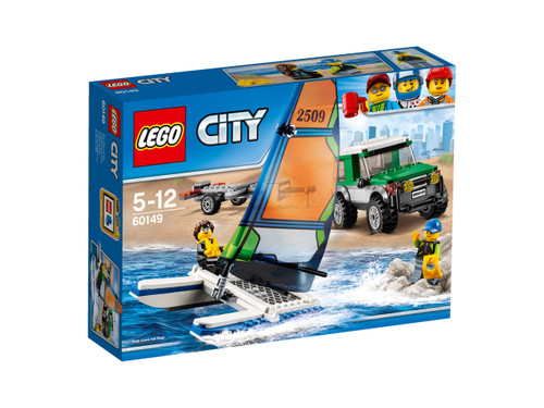 LEGO CITY - 4X4 WITH CATAMARAN