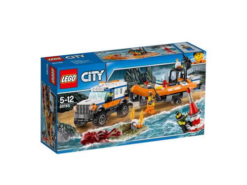LEGO CITY - 4 X 4 RESPONSE UNIT
