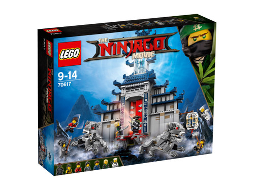 LEGO NINJAGO - TEMPLE OF THE ULTIMATE ULTIMATE WEAPON