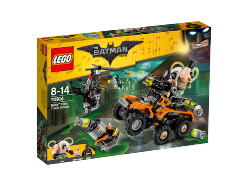 LEGO BATMAN MOVIE - BANE TOXIC TRUCK ATTACK