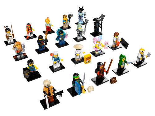 THE LEGO NINJAGO MOVIE - MINI FIGURES